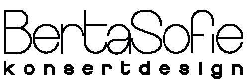 BertaSofie Konsertdesign